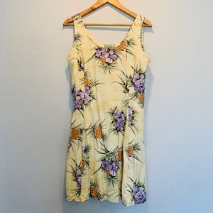 Tommy Bahama Silk Hawaiian Dress Size 10  🌺